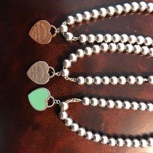 Tiffany & Co. Jewelry - Return to Tiffany beaded bracelet (Rubedo)